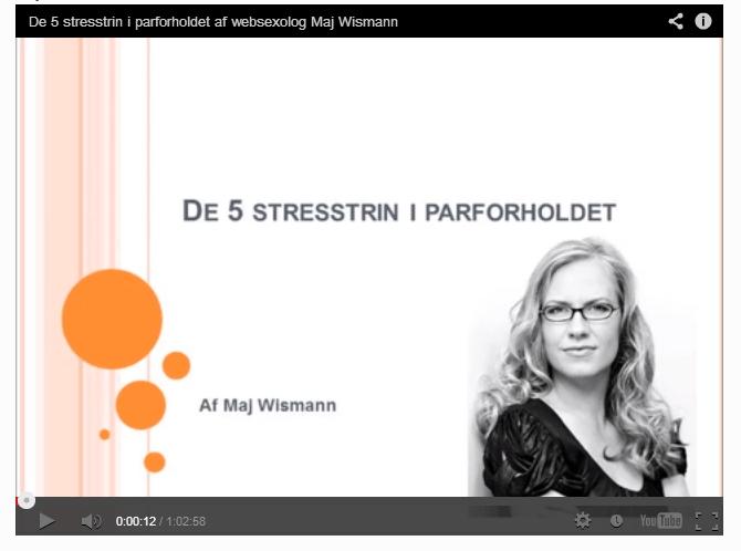 Foredrag Maj Wismann