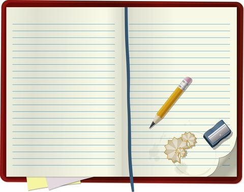 Før en journal over dine observationer