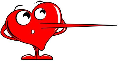 Jeg stoler ikke på min kæreste og min kæreste lyver for mig