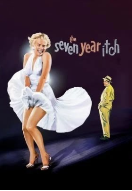 7 års krisen - Filmen med Marilyn Monroe