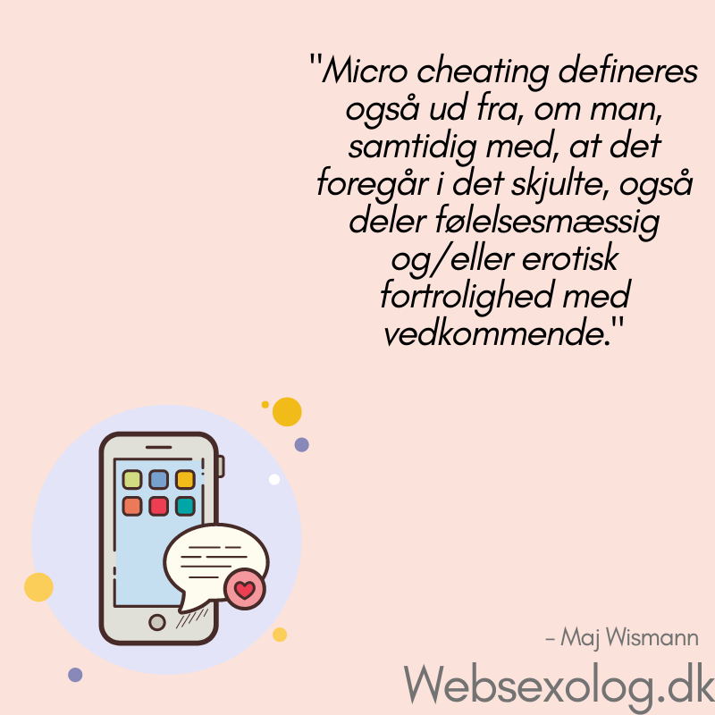Micro Cheating - Maj Wismann