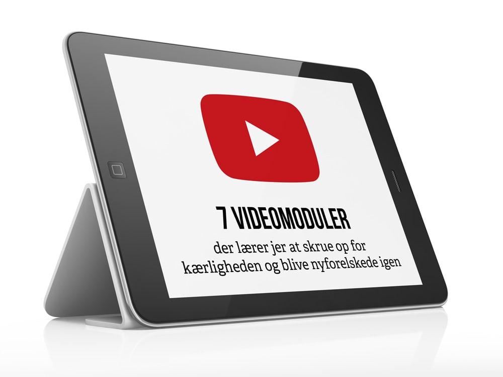 Bliv nyforelsket på 7 uger - 7 online moduler