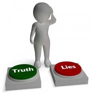 En løgn er en løgn