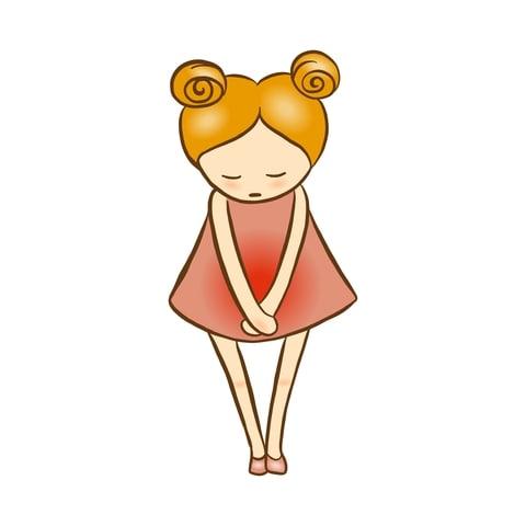 Ung pige med kraftige menstruationssmerter – Hvordan hjælper jeg min datter?
