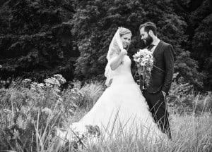 Maj og Mads Bryllup på Hotel Hesselet