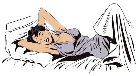 Jeg kan få orgasme i søvne, men kan ikke give det til mig selv vågen?