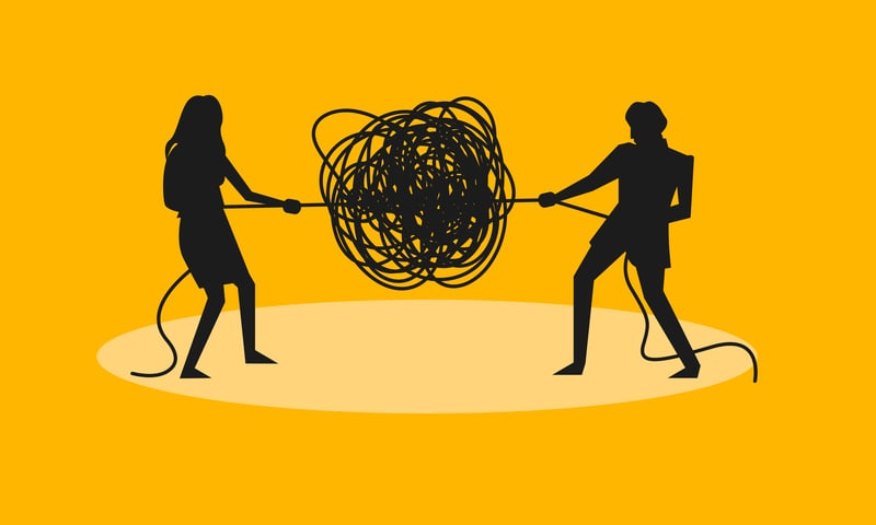 Par i konflikt - Maj Wismann