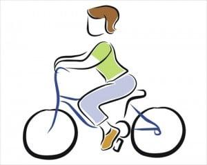 Selv cykelturen kan blive smertefuld med tørre slimhinder