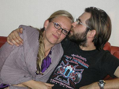 Sexolog Maj Wismann og Mads Bruun