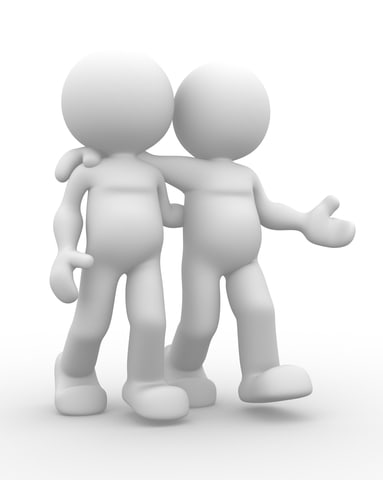 Snak med gode veninder hjælper ofte med at komme videre