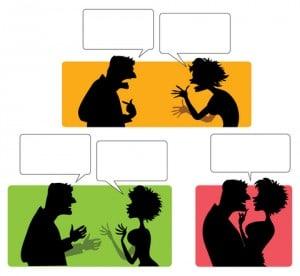 Skænderi, skændes, kommunikationskursus for par
