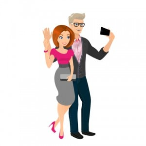 Utroskab historier - De tog selfies sammen