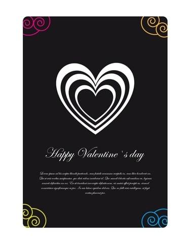 Historien om Valentinskort